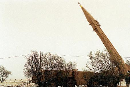 Scud missile -- aimed at Israel?