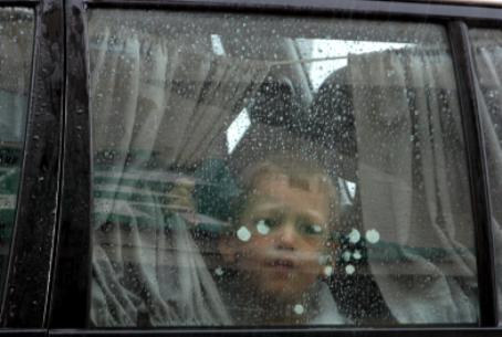 Child in car (illustrative)