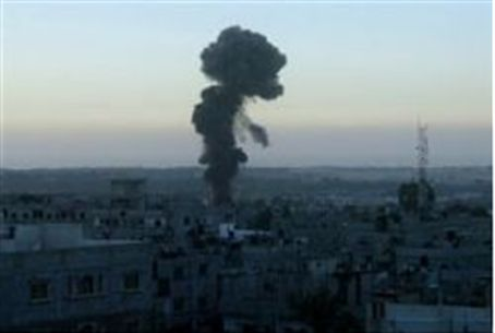 IAF Bombs terrorist sites in Gaza