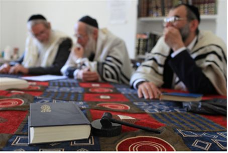 Rabbis of 'New Sanhedrin' (file)