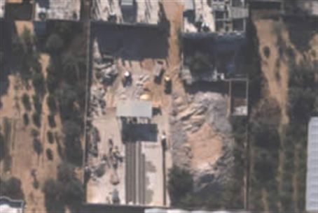 Hamas cement factory