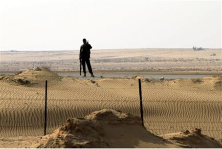 The Egyptian border