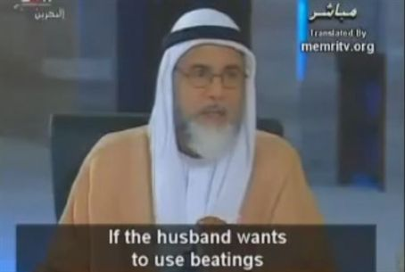 Sheikh on Wife Beating Rules
