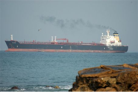 Crude oil tanker (file).
