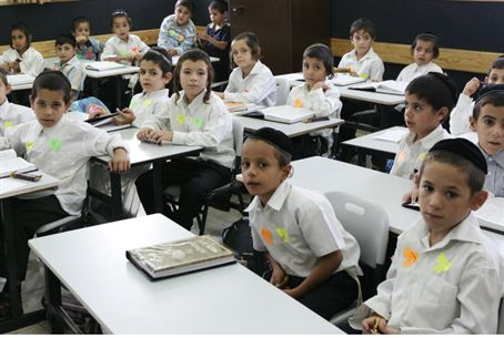 Yeshiva classroom (illustrative)