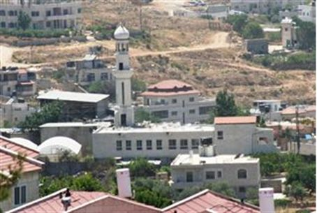 A mosque in Binyamin Region