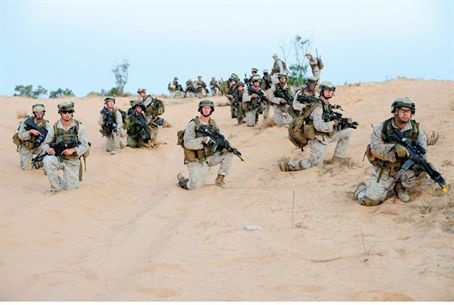 US Marines training in Israel