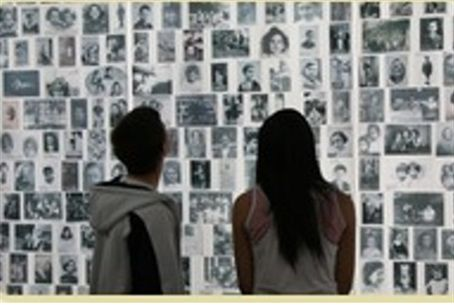 Pictures of Holocaust victims