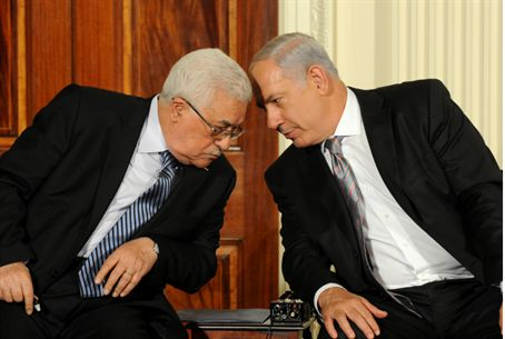 Netanyahu, Abbas in Washington