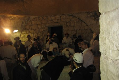 Rabbi Yosef Sitruck at Joseph's Tomb