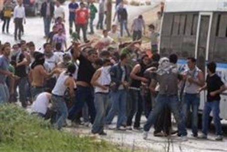 Jerusalem Arabs riot (file)