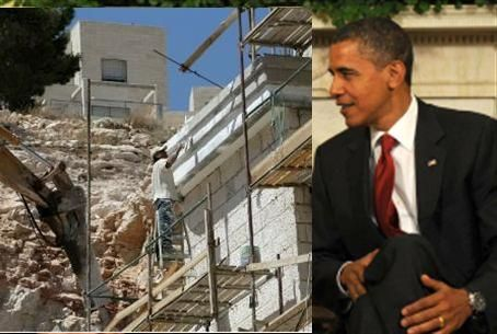 Building freeze issue puts Obama in a corner