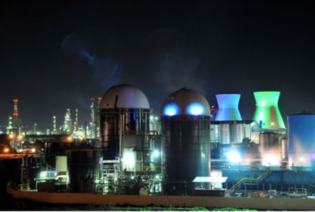Haifa industrial area (file).