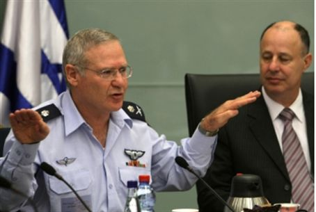 Generall Yadlin at Knesset committee Tuesday