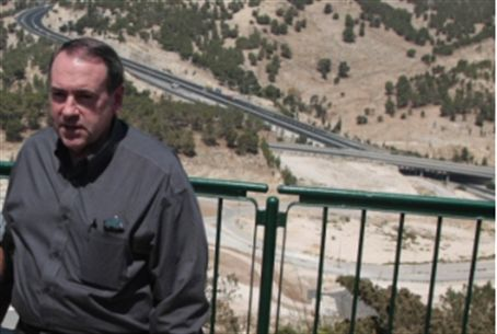 Governor Huckabee at Maaleh Adumim