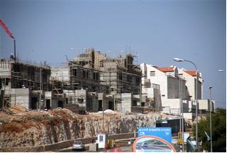 Construction in Kiryat Arba (illustrative)