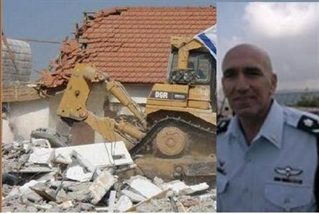 Bar-Lev and destruction of Gush Katif homes