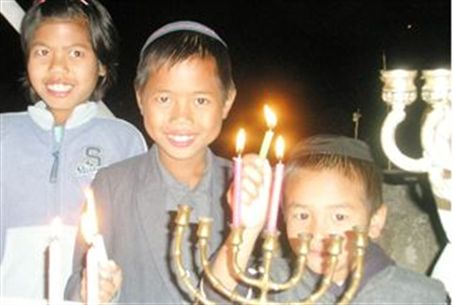 Chanukah celebration