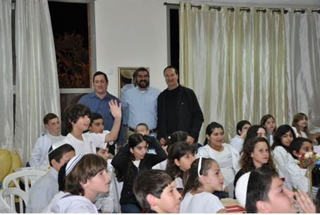 Shaarie Tikva 6th Graders Connecting to LA Je