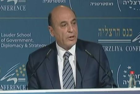 MK Mofaz at Herzliya Conference