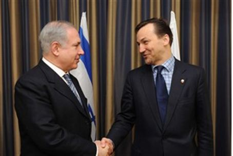 Netanyahu and Polish Foreign Minister (Archiv