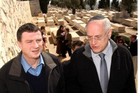 Edelstein and Hoenlein at Mount of Olives
