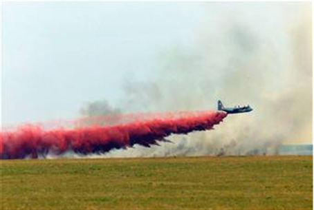 Aerial firefighting plane