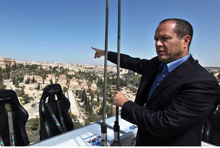 Jerusalem Mayor Nir Barkat at