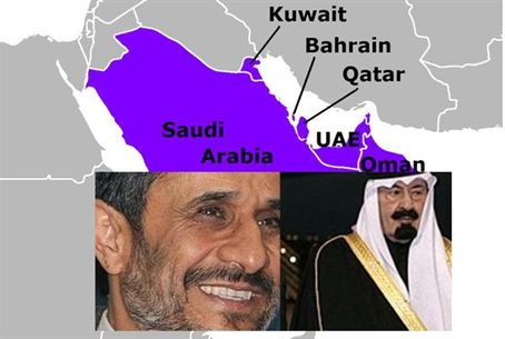 Ahmadinejad and Saudi King Abdullah