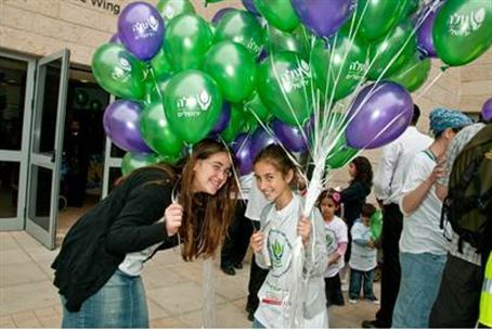 ALEH Marches Forward in Jerusalem on Chol HaM
