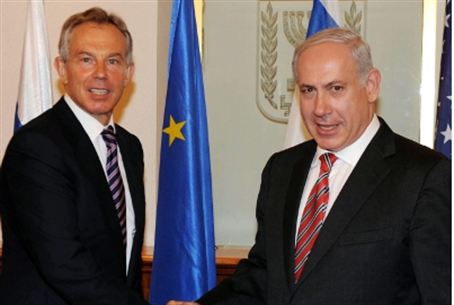 Blair and Netanyahu