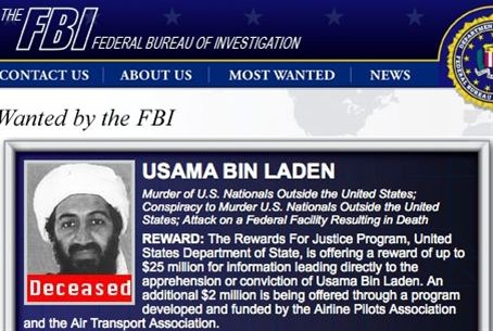 Bin Laden - Deceased.