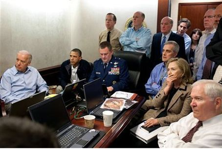 Clinton in the Situation Room