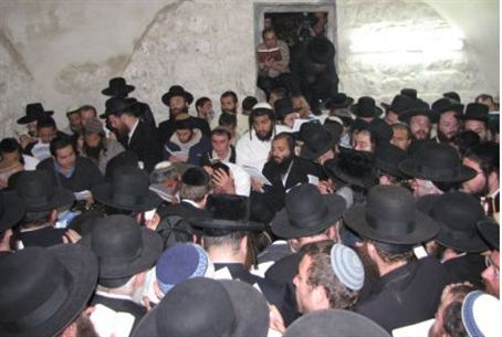 Prayer at Kever Yosef