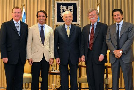 Aznar With Peres
