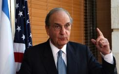 Obama's Middle East envoy George Mitchell