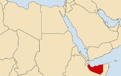 Somaliland (in Red)