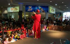 Purim at the Maaleh Adumim mall