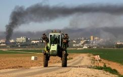 IDFattack on Gaza terrorists near kibbutz