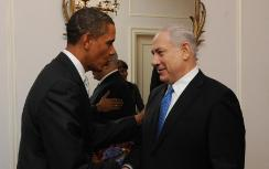 US President Obama, PM Netanyahu (archive)