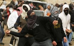 Arab riot (illustrative)