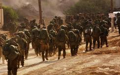 IDF entering Gaza in Cast Lead campaign