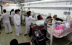 Rocket victims in Barzilai Hospital's shelter