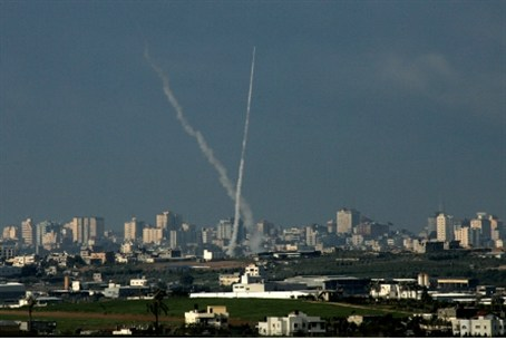 Rocket fire on Ashkelon and Ashdod