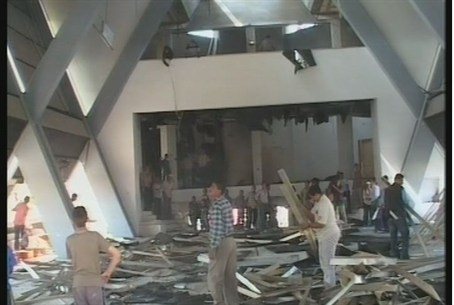 Destruction of Neve Dekalim yeshiva