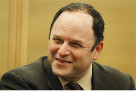 Jason Alexander in Israel