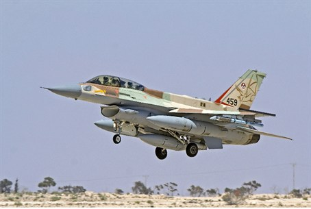 F-16 used in attack on Syrian reactor