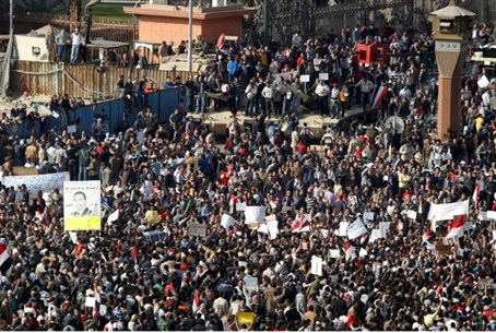 Protest in Egypt