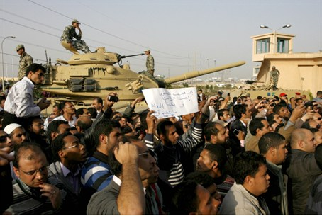 Protesters in Egypt (archive)