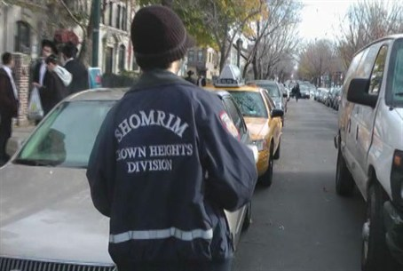 Shomrim at the Scene